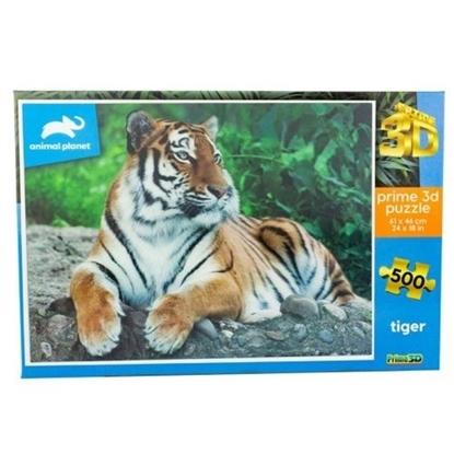 Imagen de Discovery puzzle 3 d 500 piezas tigre gigante