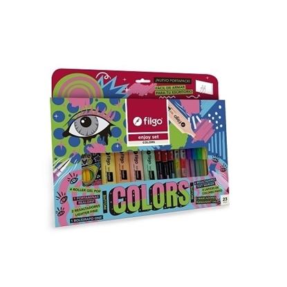 Imagen de Filgo enjoy colors set 23 surtido
