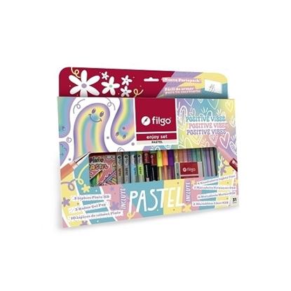 Imagen de Filgo enjoy set pastel - set 31 surtido