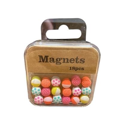 Imagen de Imanes magnéticos Neox chicos estuche con 18 unidades
