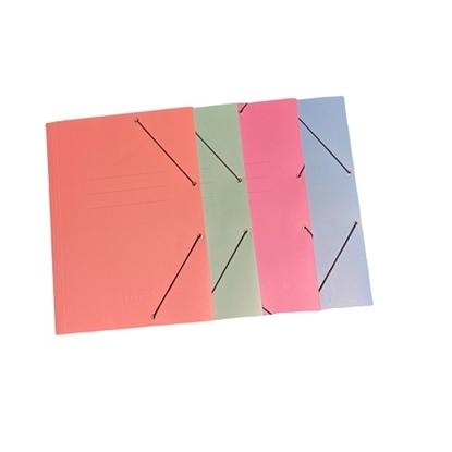 Imagen de Carpera c/elástico oficio colores pastel