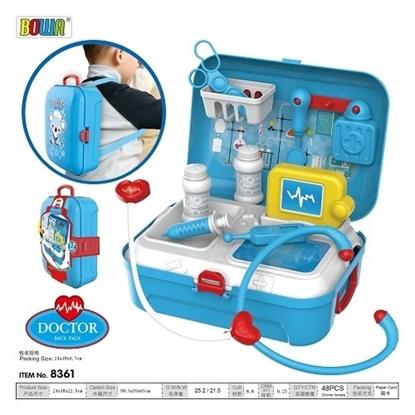 Imagen de Kit de médico en caja mochila